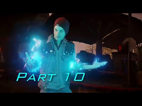 (New) Infamous second son walkthrough part 10 - no commentary (good karma) (ps4)