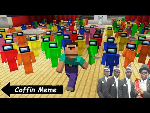 (New) Among us, but with 99 impostors [minecraft]