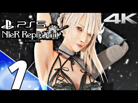 (New) Nier replicant ps5 gameplay walkthrough part 1 - prologue (4k 60fps) full game