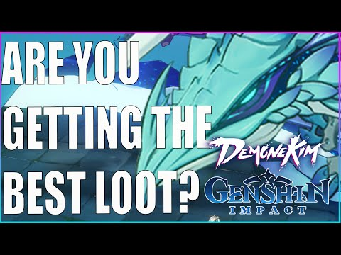 (New) Getting the best loot possible from world bosses - genshin impact