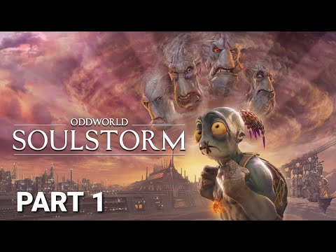 (New) Oddworld: soulstorm ps5 gameplay walkthrough part 1 - 4k