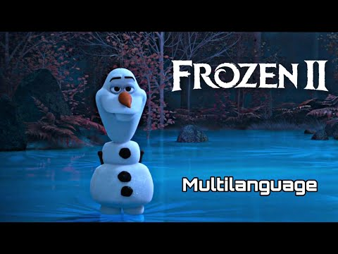(New) Olaf tells the frozen story (in 49 languages)