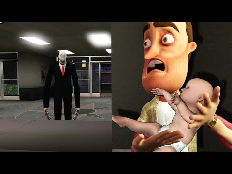 (New) Slender man tried to steal my baby?!