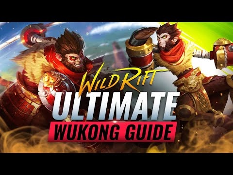 (VFHD Online) The ultimate wukong guide for wild rift (lol mobile)