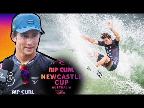 (Ver Filmes) Griffin colapintos last minute heroics vs. michel bourez | rip curl newcastle cup heat replay