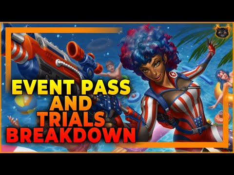 (New) Beach bash event pass and trials of the realm breakdown