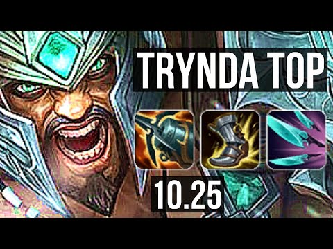 (New) Tryndamere vs jayce (top) | 2.3m mastery, 600+ games, 8 2 6, dominating | kr diamond | v10.25