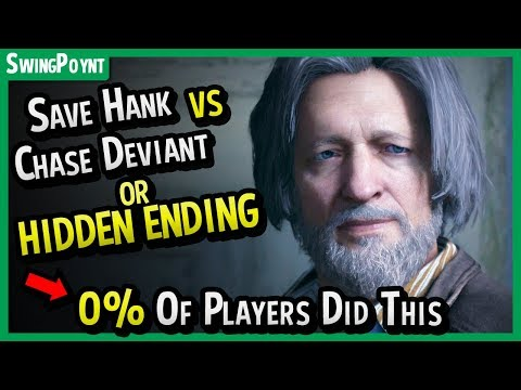 (New) Detroit become human - 0% of players got this ending + save hank vs chase deviant (nest all endings)