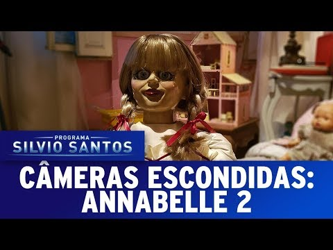 (New) Annabelle creation prank - annabelle 2 | câmeras escondidas (06 08 17)