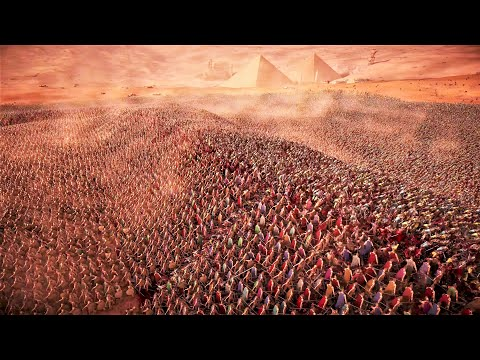 (New) 50.000 spartans vs 1 million knights - ultimate epic battle simulator 2