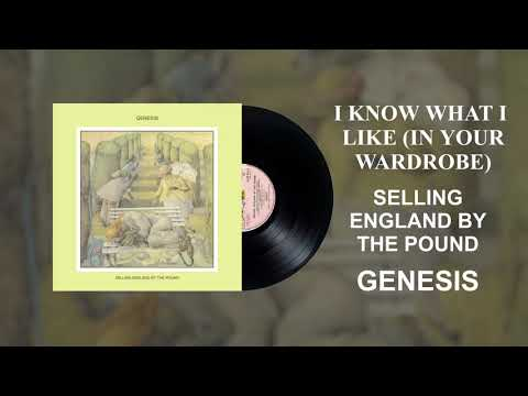 (New) Genesis - i know what i like (in your wardrobe) [official audio]