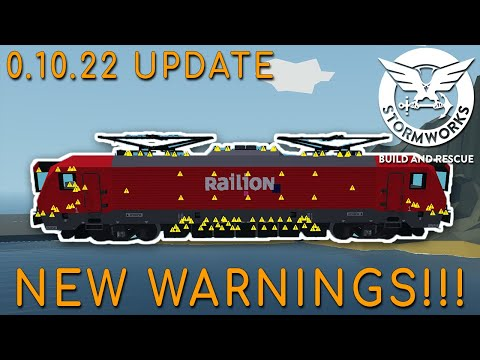 (New) Stormworks 0.10.22 update (new warnings e more!!!!)