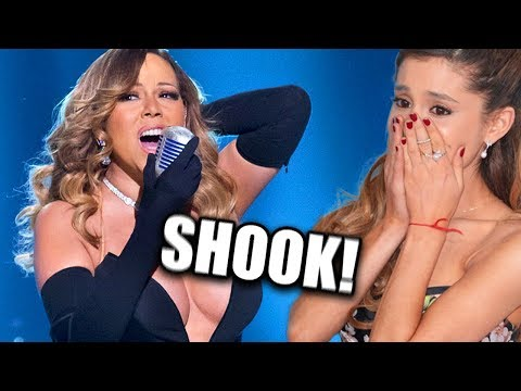 (New) Famous people reacting to mariah careys insane vocals!