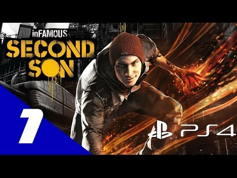 (New) Infamous: second son walkthrough part 1 lets play gameplay no commentary