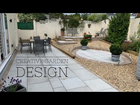 (HD) Laying a stone patio tutorial
