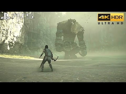 (New) Shadow of the colossus (ps5) 4k 60fps hdr gameplay