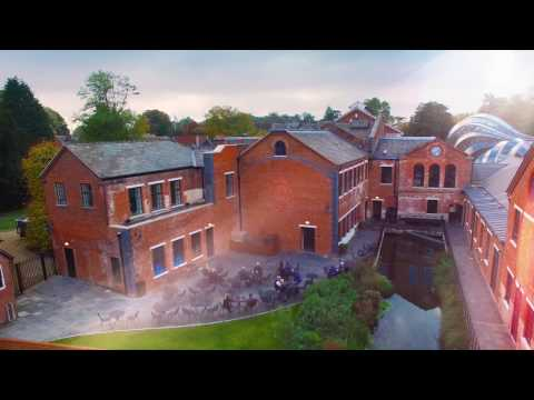 (New) Welcome to the bombay sapphire distillery