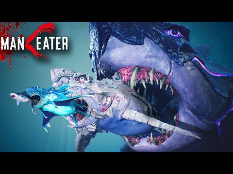(New) All sharks maxed, game completed!!! - maneater gameplay | part 8