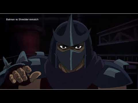 (New) Batman vs shredder part 2 rematch
