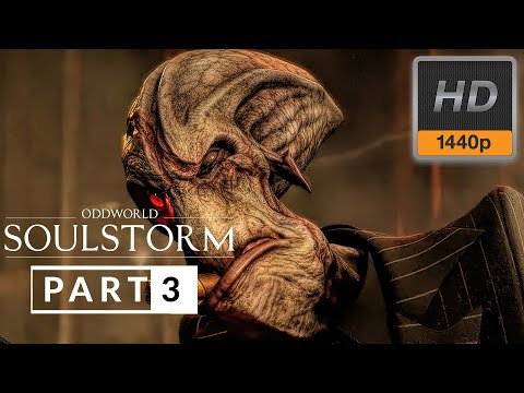 (New) Oddworld soulstorm gameplay walkthrough part 3 [1440p 60fps] no commentary (full game)