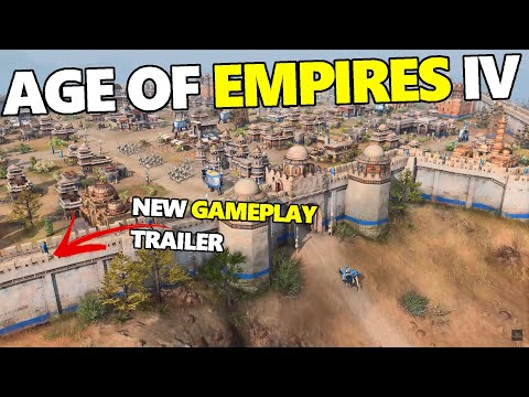 (New) Age of empires 4 - new gameplay, first campaign e factions