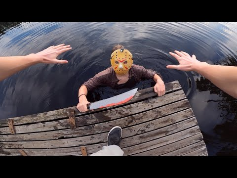 (Ver Filmes) Jason voorhees vs parkour in real life | friday the 13th