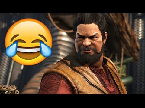 (New) Mortal kombat x - characters poke fun at each other