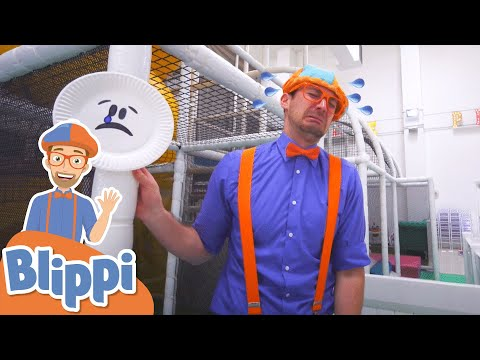 (Ver Filmes) Learning emotions with blippi at an indoor play place for kids | educational videos for kids
