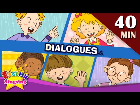 (VFHD Online) Good morning+more kids dialogues | learn english for kids | collection of easy dialogue