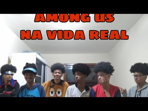 (New) Among us na vida real !!!