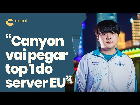 (New) Ericat comenta performance do canyon no servidor europeu