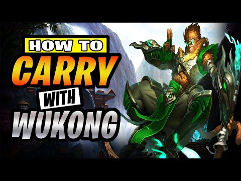 (VFHD Online) Wukong wild rift best build and runes - wukong wild rift jungle assassin guide - how to play wukong