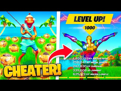 (New) Fortnite como upar rapido level 220! xp bug hack glitch
