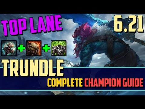 (New) Trundle: trolling in the top lane - league of legends champion guide
