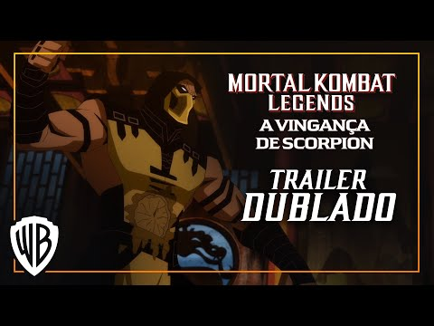 (HD) Mortal kombat legends: a vingança de scorpion – trailer dublado (pt-br)