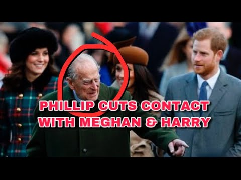 (New) Prince phillip cuts all contact with harry e meghan 🔥