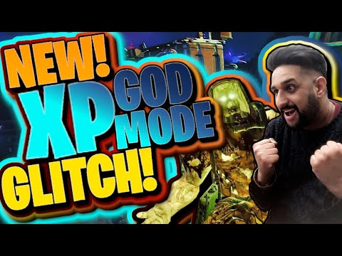 (HD) Cold war zombies: new god mode xp glitch! easy level up (all camos fast!)