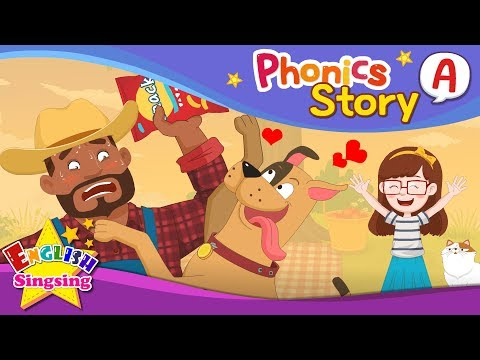 (VFHD Online) Phonics story a - english story - educational video for kids