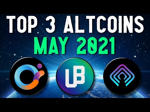 (New) Top 3 altcoins set to explode in may 2021 | best cryptocurrency investments