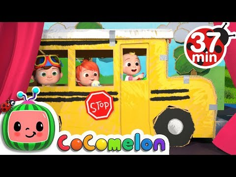 (Ver Filmes) Wheels on the bus (play version) + more nursery rhymes e kids songs - cocomelon