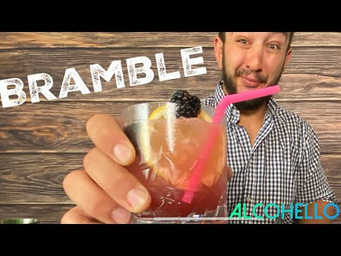 (HD) How to make a bramble l gin drinks l cocktail recipes l best bartender l alcohello