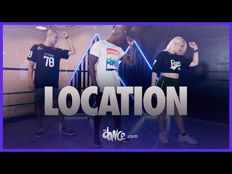 (New) Location - karol g, anuel aa, j balvin | fitdance (coreografia) | dance video