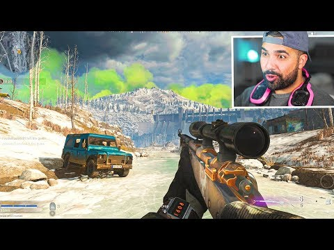 (New) My first game!! - call of duty warzone (battle royale)