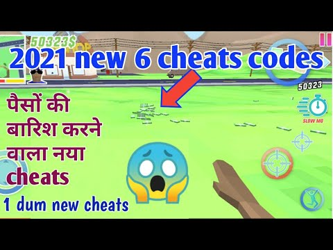 (New) Dude theft wars: 2021 6 new cheats codes, lets play and enjoy