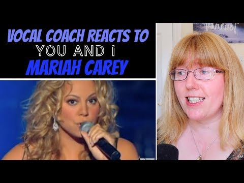(VFHD Online) Vocal coach reacts to mariah carey you and i (stevie wonder)