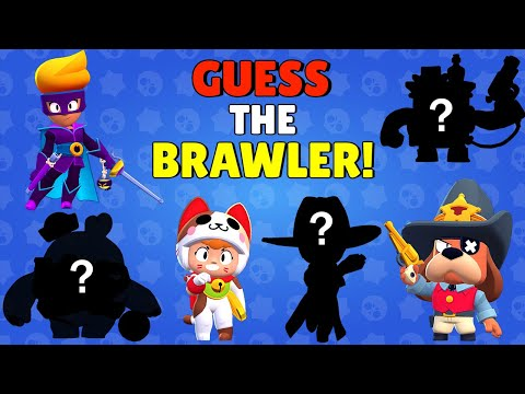 (VFHD Online) Can you guess all new brawler e skins   brawl talk quiz (with squeak and belle)