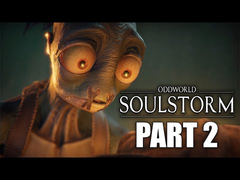 (New) Oddworld soulstorm ps5 gameplay walkthrough part 2: find the others (no commentary)