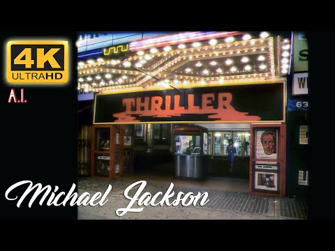 (HD) Michael jackson - thriller - a.i. 4k uhd version 2020.