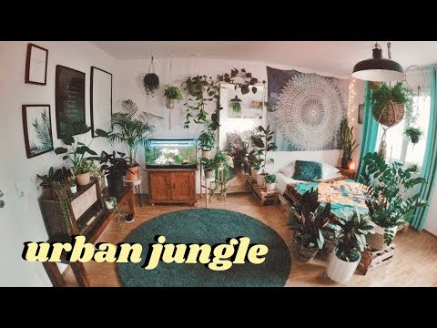 (New) Urban jungle room makeover (timelapse)