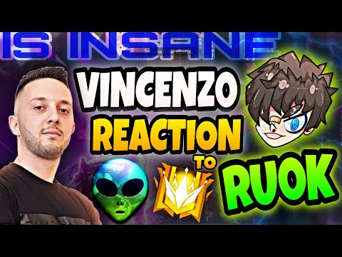 (New) Vincenzo reaction to ruok | [insane player👽]
